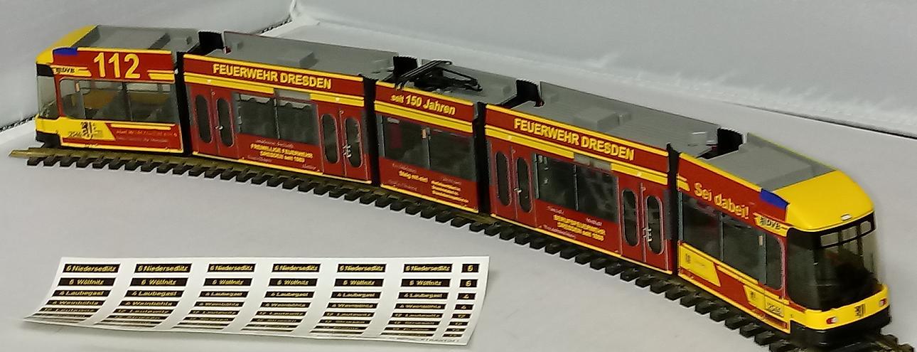 DUEWAG Straßenbahn 1:87 H0