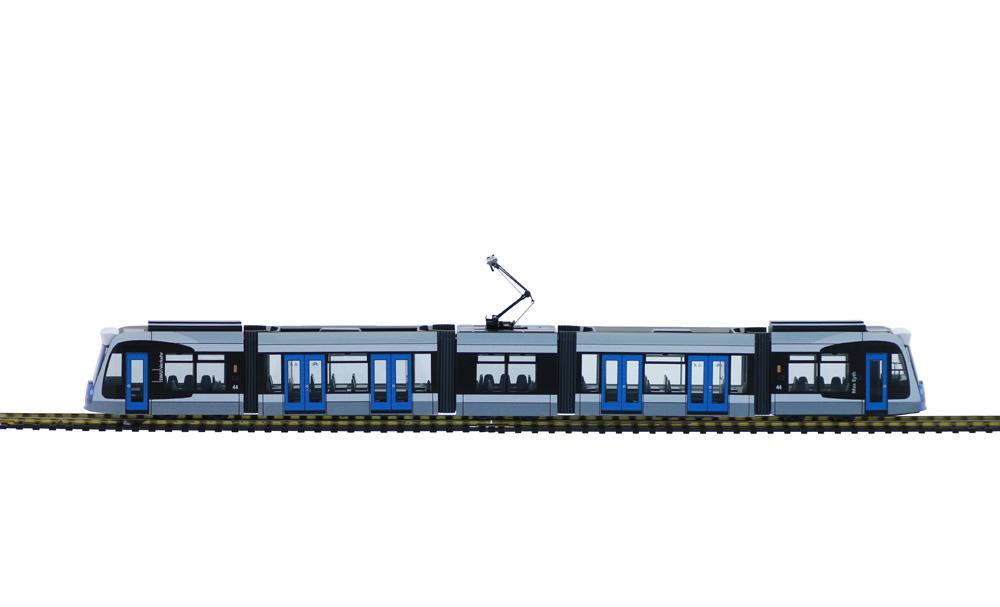 COMBINO Straßenbahn 1:87 / H0<p> 5 teilige Fahrzeuge