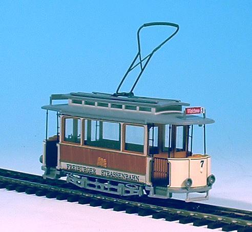 Oldtimer Straßenbahnen 1:87 H0