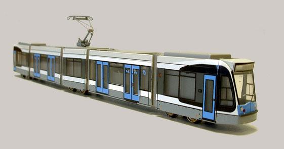 COMBINO Straßenbahn 1:160 N